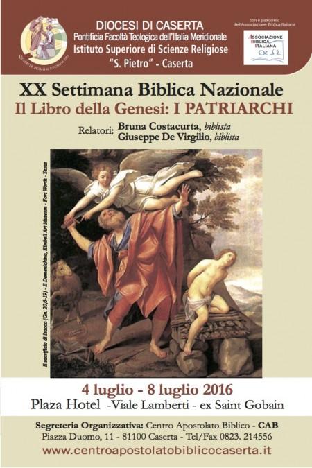 Settimana Biblica 2016