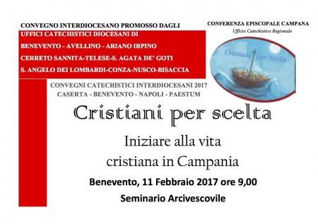 Locandina convegni regionali - Benevento